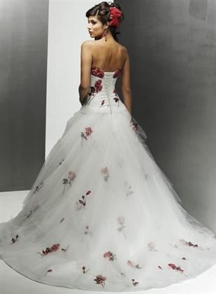 Svatební šaty - růžové i červené až do bordó - Obrázek č. 38