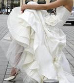 svadobne saty francuzskej zn. CYMBELINE Cybella, 36