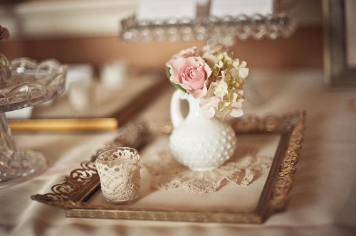 Lace Wedding Decorations & Details - Obrázok č. 40