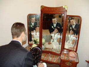 mat take zrkadlo doma