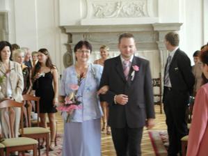 ženich s mamčou