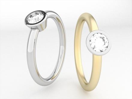 Zasnubne prstene na inspiraciu - Obrázok č. 9