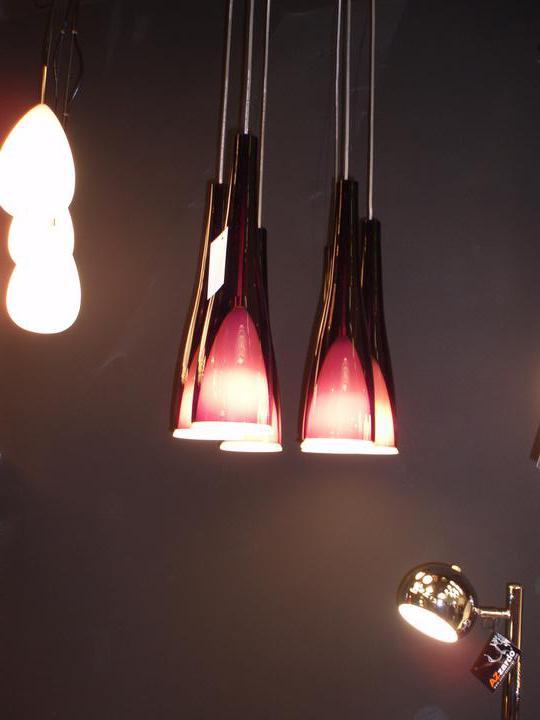 Náš domček - Posledny ulovok z vystavy - svietidla azzardo sunset na jedalenksy stol...budu len 3