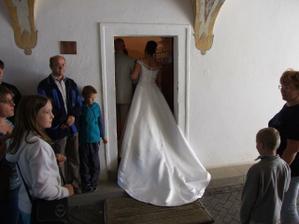 Vstup do obřadní místnosti