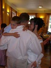 První společný taneček i se synáčkem