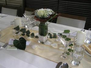 vyzdoba sala bocne stoly