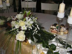 hlavny stol prazdny