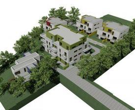 Tak v tom největším domě bude náš byt:-)