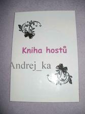 vlastní tvorba Knihy hostů - nekopírovat prosíím