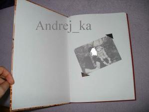 vnitřek naší Knihy hostů - nekopírovat prosíím