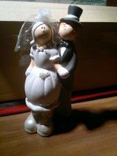 figurka na svatební dort, ještě uvidím za ji na něj využiju nebo jenom jako dekoraci :)