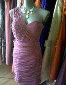 šaty na jedno ramienko, 36