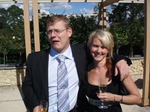 Mydva na svatbe Nicole a Vladka