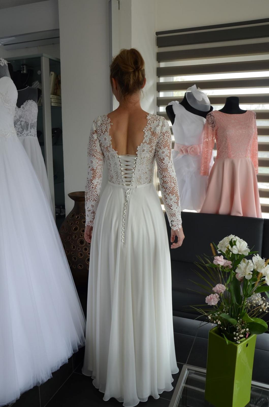 Boho svatební šaty - Obrázok č. 6