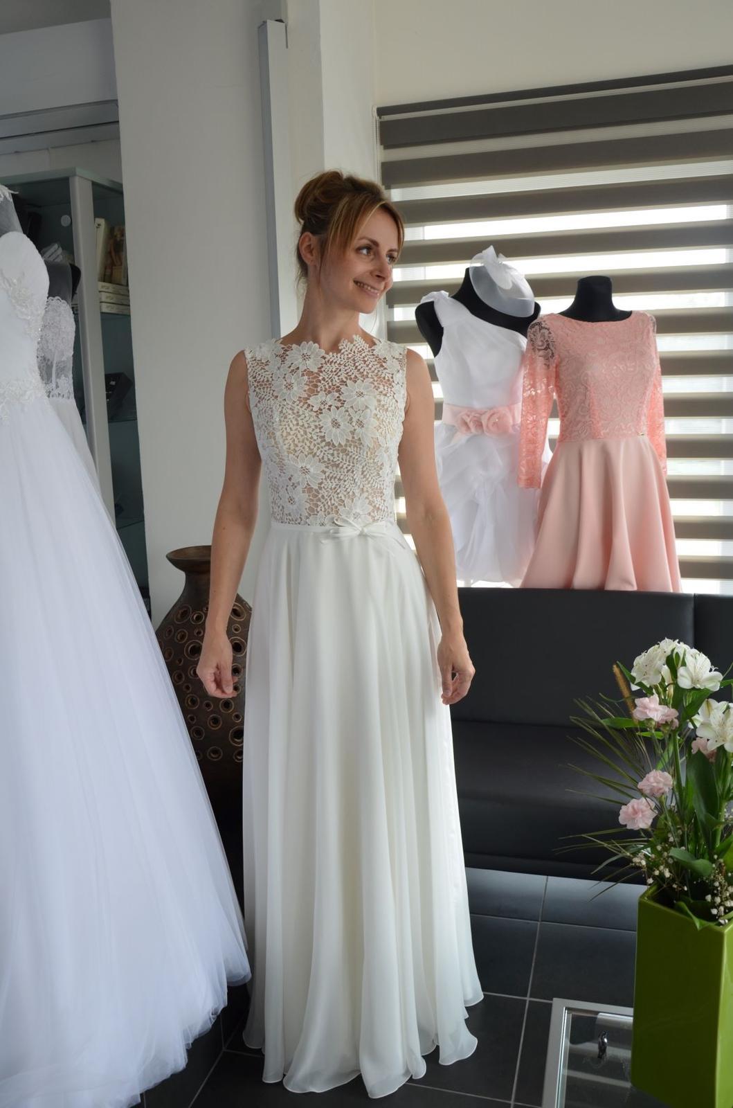 Boho svatební šaty - Obrázok č. 7