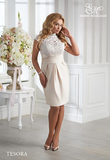 Svatební, společenské šaty EM vel. 44 - Obrázok č. 1