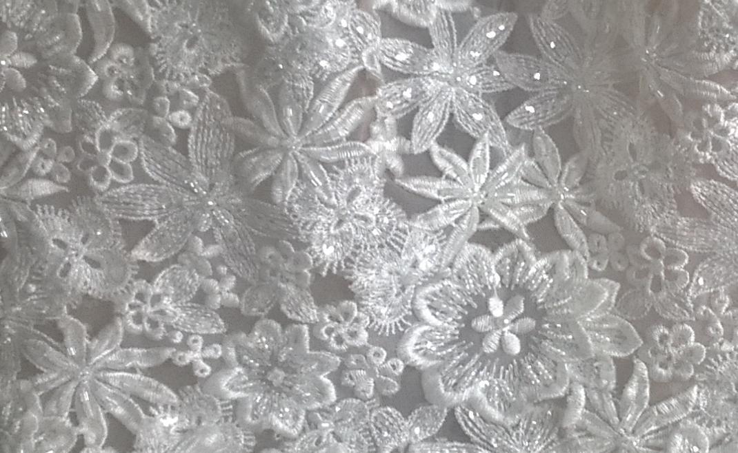 Svatební, společenské šaty EM vel. 44 - Obrázok č. 2