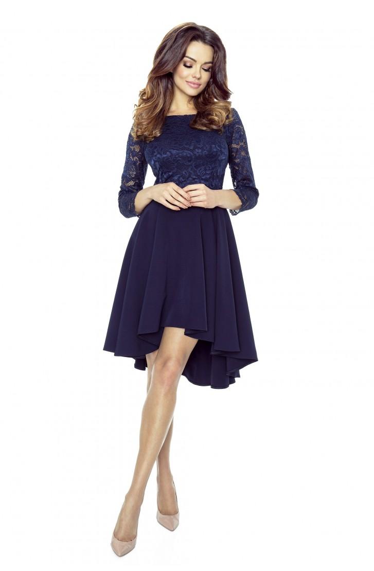 Společenské šaty s krajkou - Obrázok č. 1