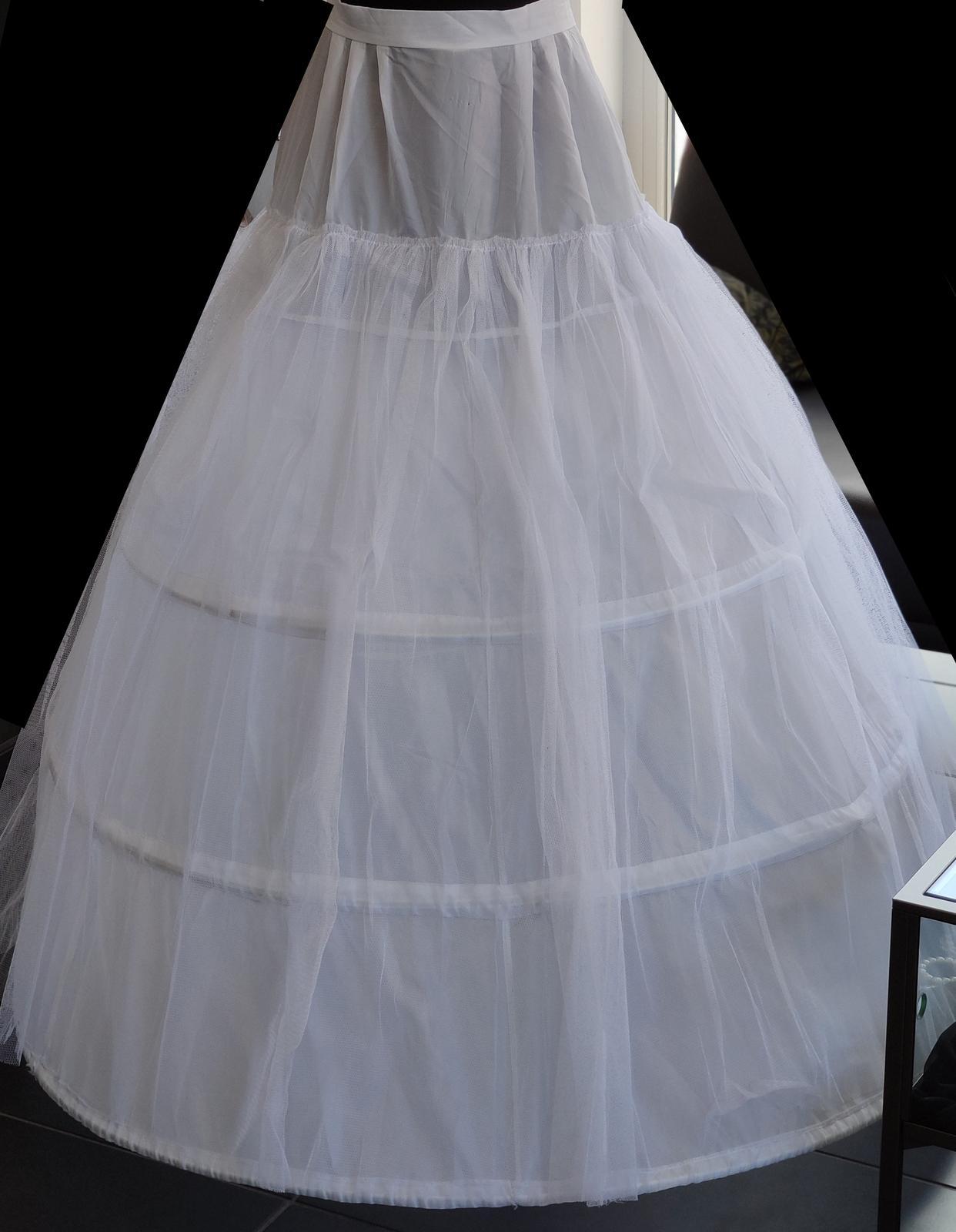3 kruhová spodnice - Obrázok č. 1