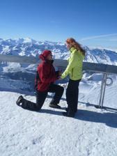 požiadanie o ruku v Alpach..:-D