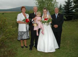 S Vojťuli rodiči - moje rodina na svatbě nebyla
