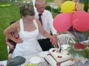 krájíme dortík:-)