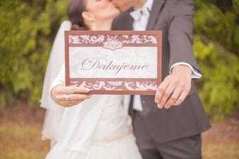 Naše veľké ďakujeme všetkým, ktorí sa zaslúžili o výnimočnosť nášho svadobného dňa - photo by Peter a Veronika Velickí (www.peterandveronika.com)