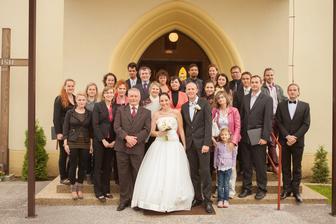 Môj milovaný zbor... vytvoril neopakovateľnú atmosféru svojim nádherným spevom!
