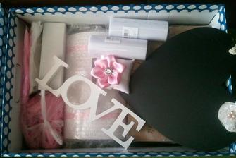 naše svatební krabice