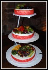 Svatebni dort - jen se po nem zaprasilo :)