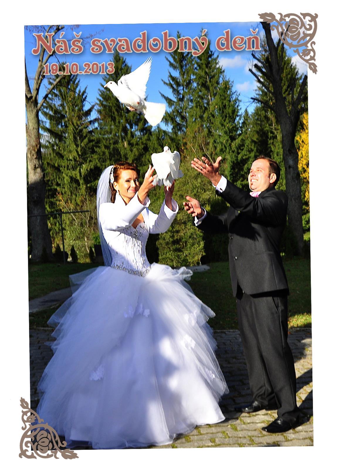 Ivetka{{_AND_}}Jurko - Náš svadobný deň :-)