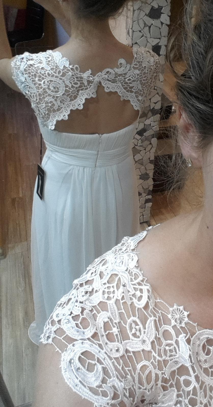 Jednoduche svadobne šaty - Obrázok č. 3