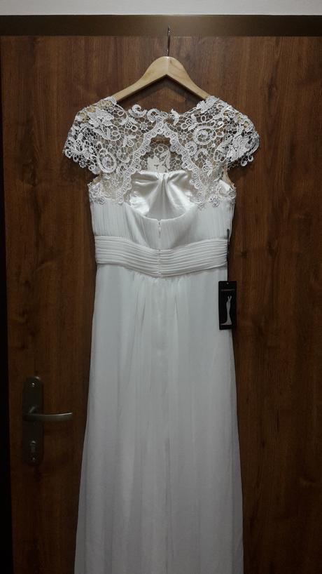 Jednoduche svadobne šaty - Obrázok č. 4