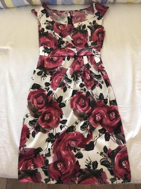 Kvietkovane šaty - Obrázok č. 1