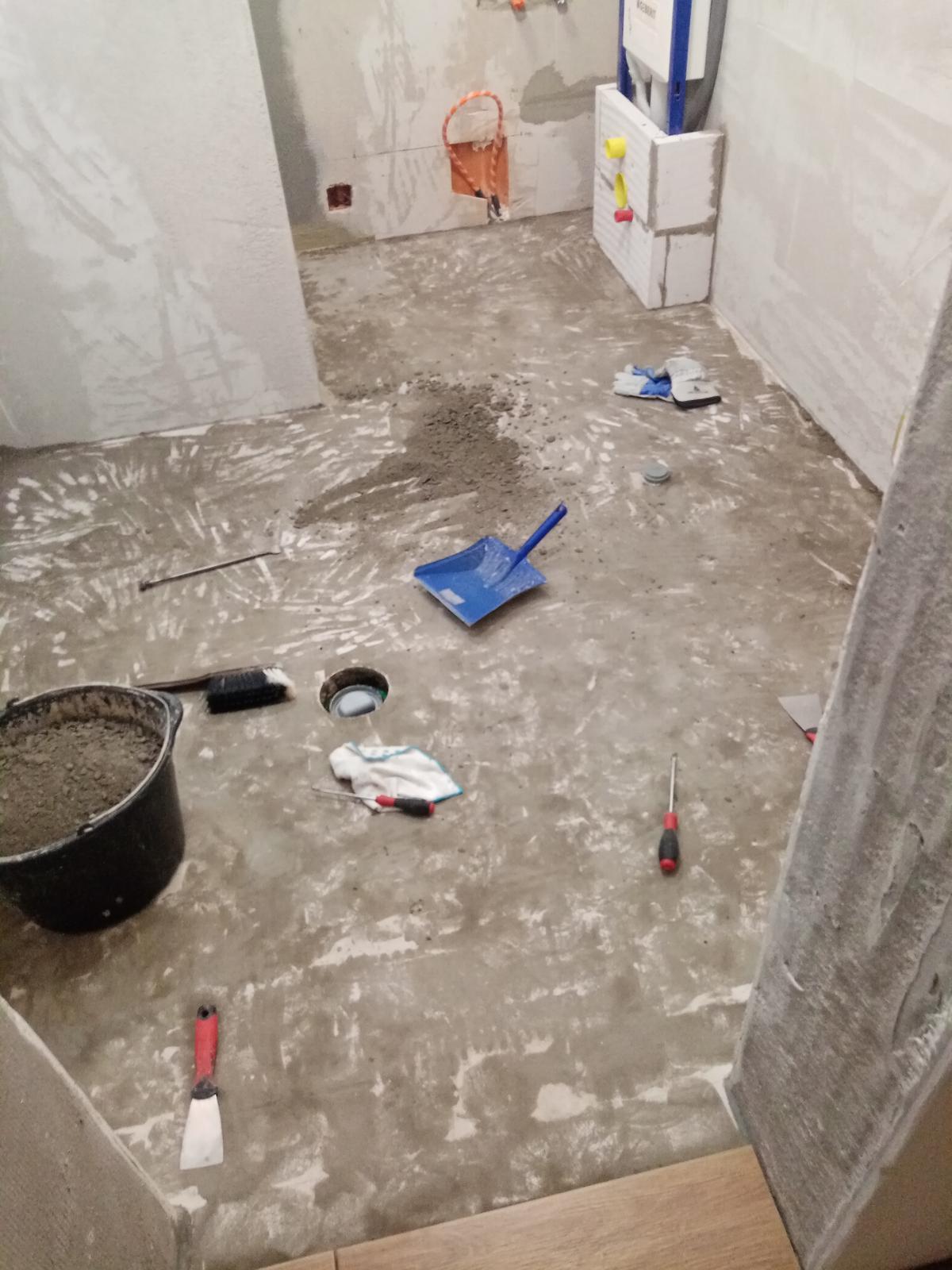 Naša kúpeľňa 3.2x2.2 a... - Obrázok č. 2