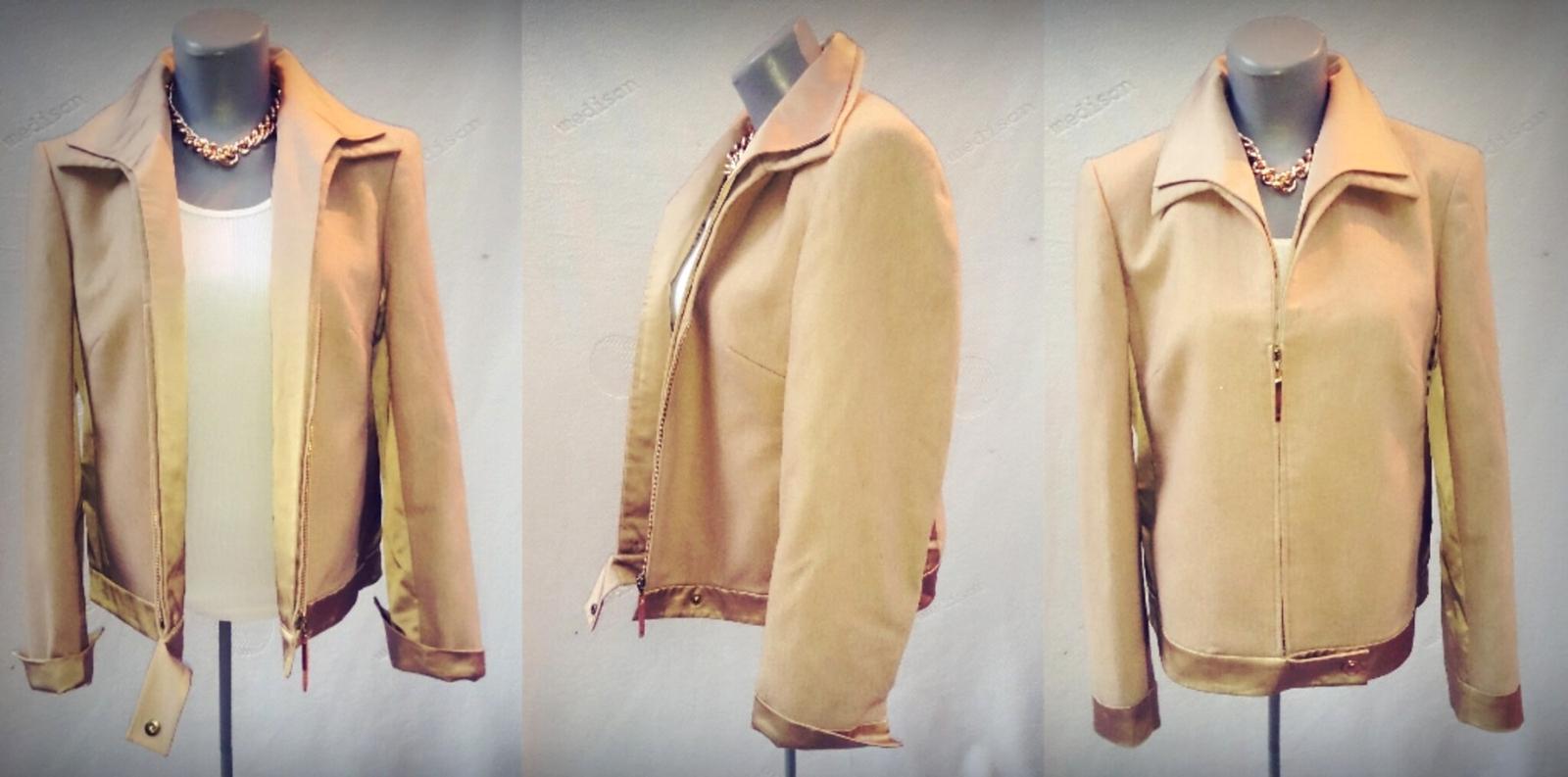 Elegancia od Betty Barclay - vlnený kabátik - Obrázok č. 2