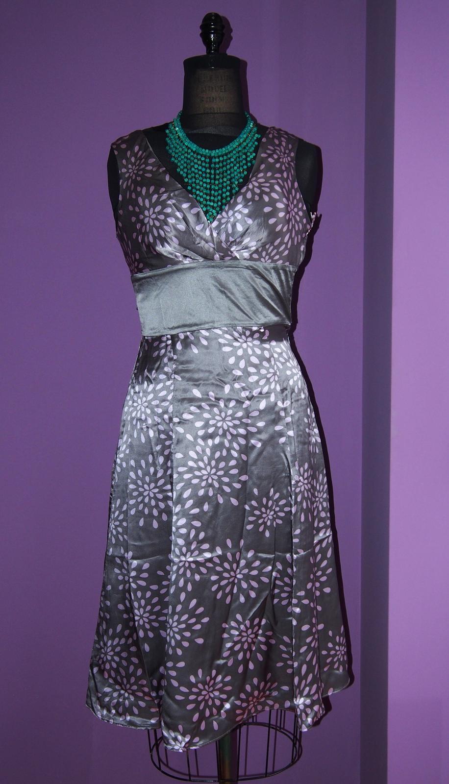 Ted Baker Nežne romantické hodvábne šaty PC140eur - Obrázok č. 4