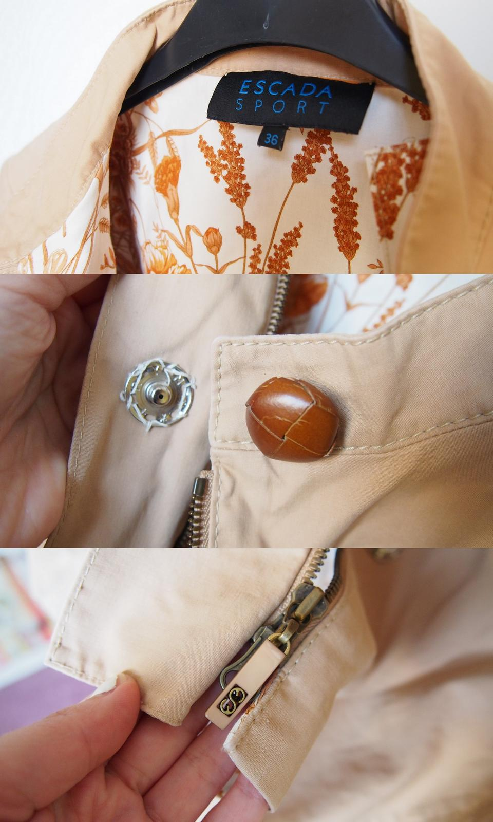 Escada Chic roztomilý kabátik UNI veľkosť - Obrázok č. 3