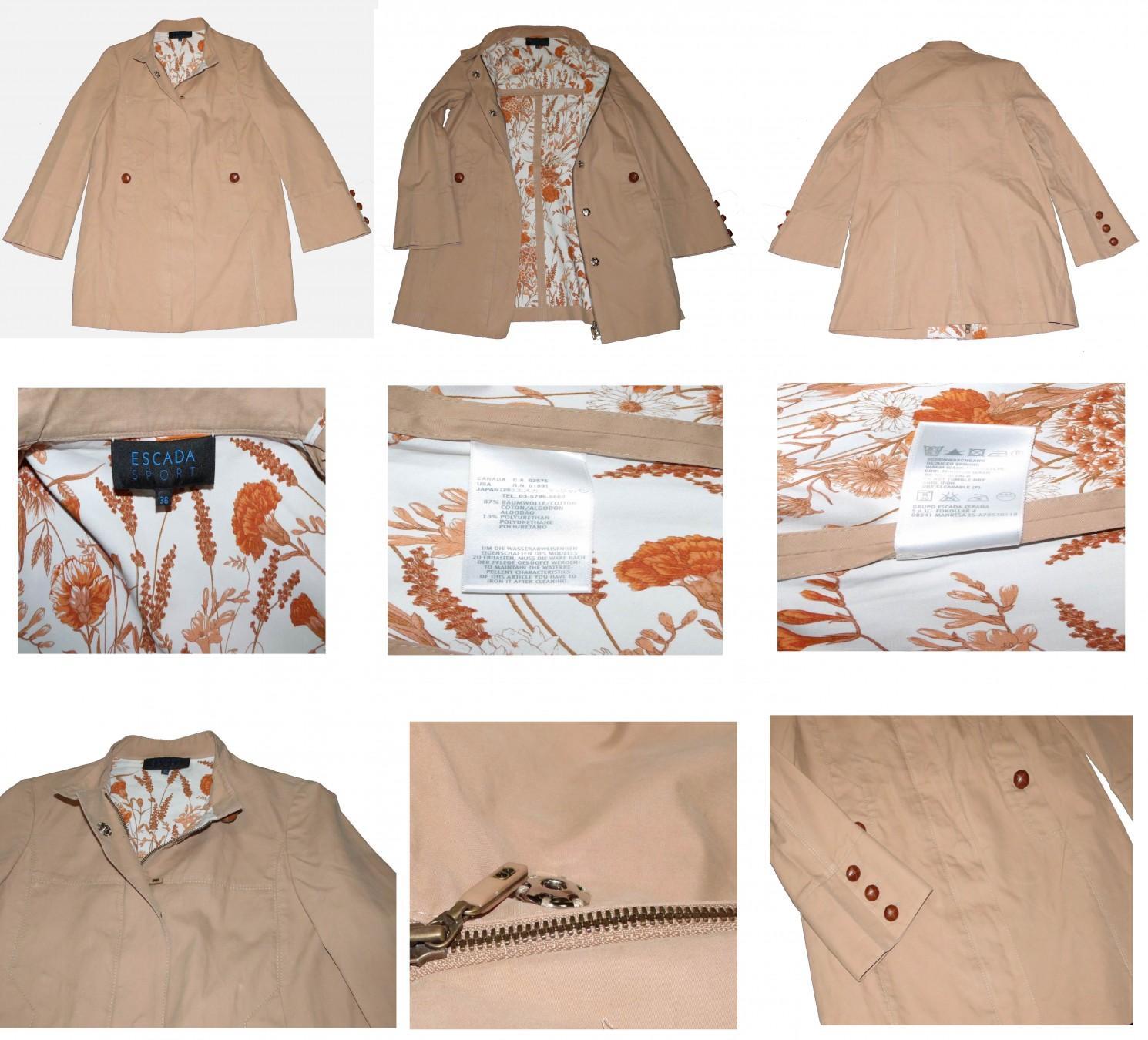 Escada Chic roztomilý kabátik UNI veľkosť - Obrázok č. 2