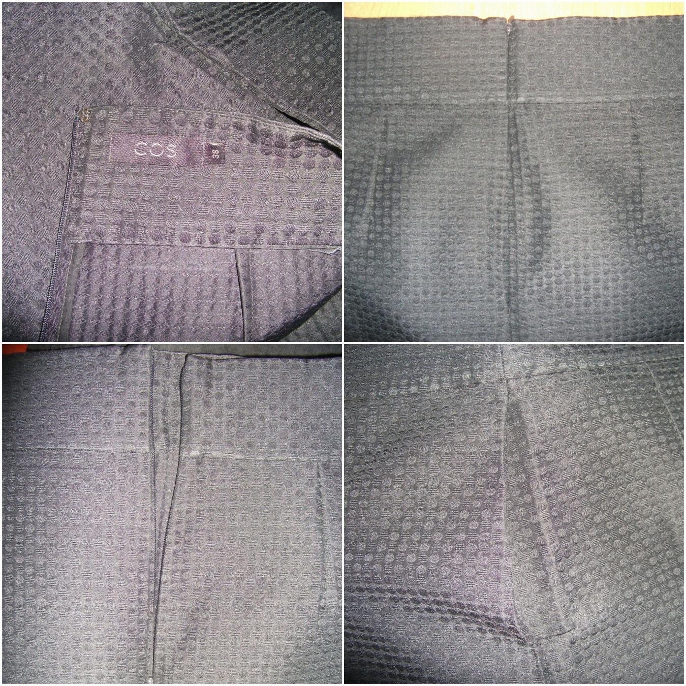 COS áčková sukňa s hodvábom a textúrou New - Obrázok č. 4