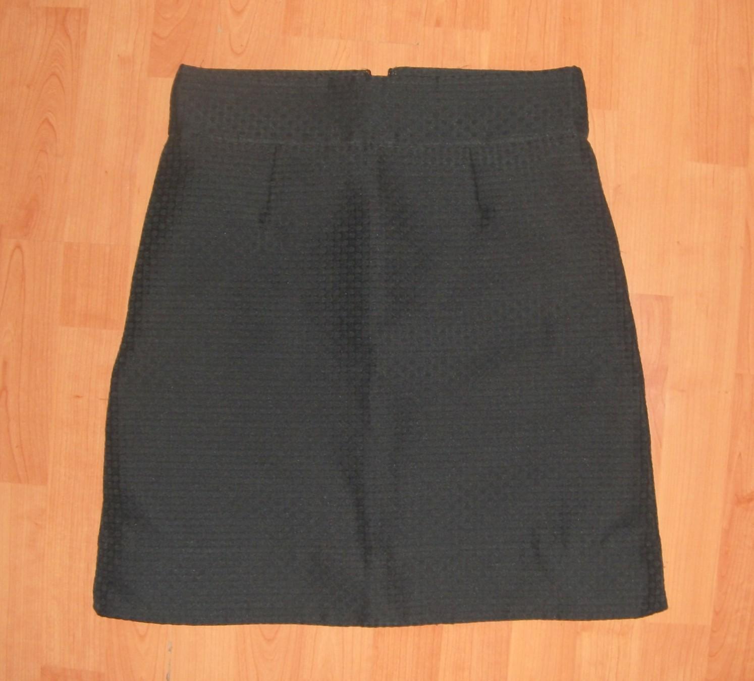 COS áčková sukňa s hodvábom a textúrou New - Obrázok č. 1