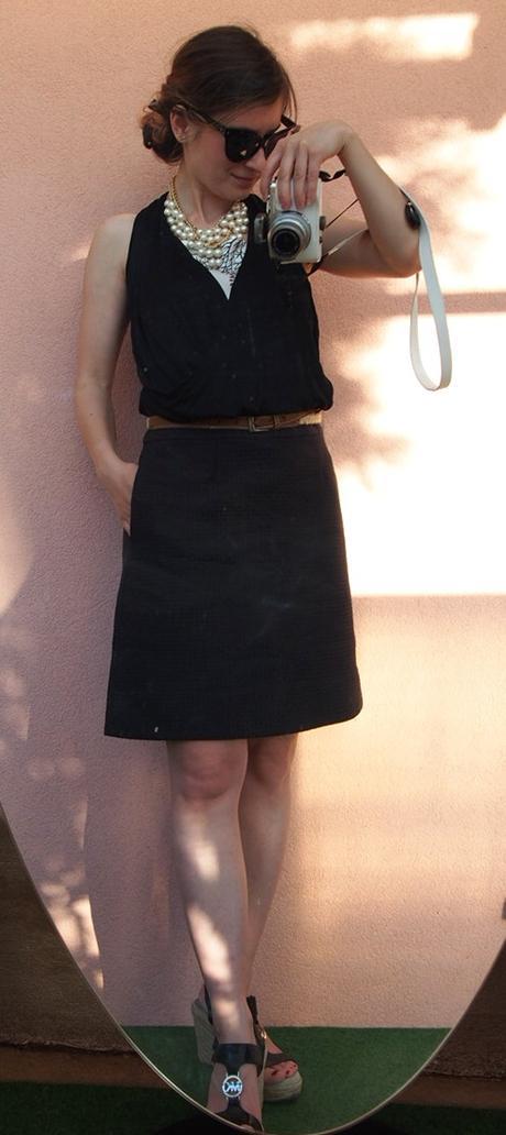 COS áčková sukňa s hodvábom a textúrou New - Obrázok č. 3