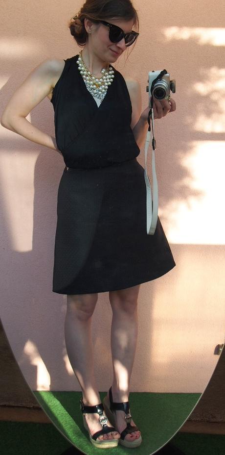 COS áčková sukňa s hodvábom a textúrou New - Obrázok č. 2