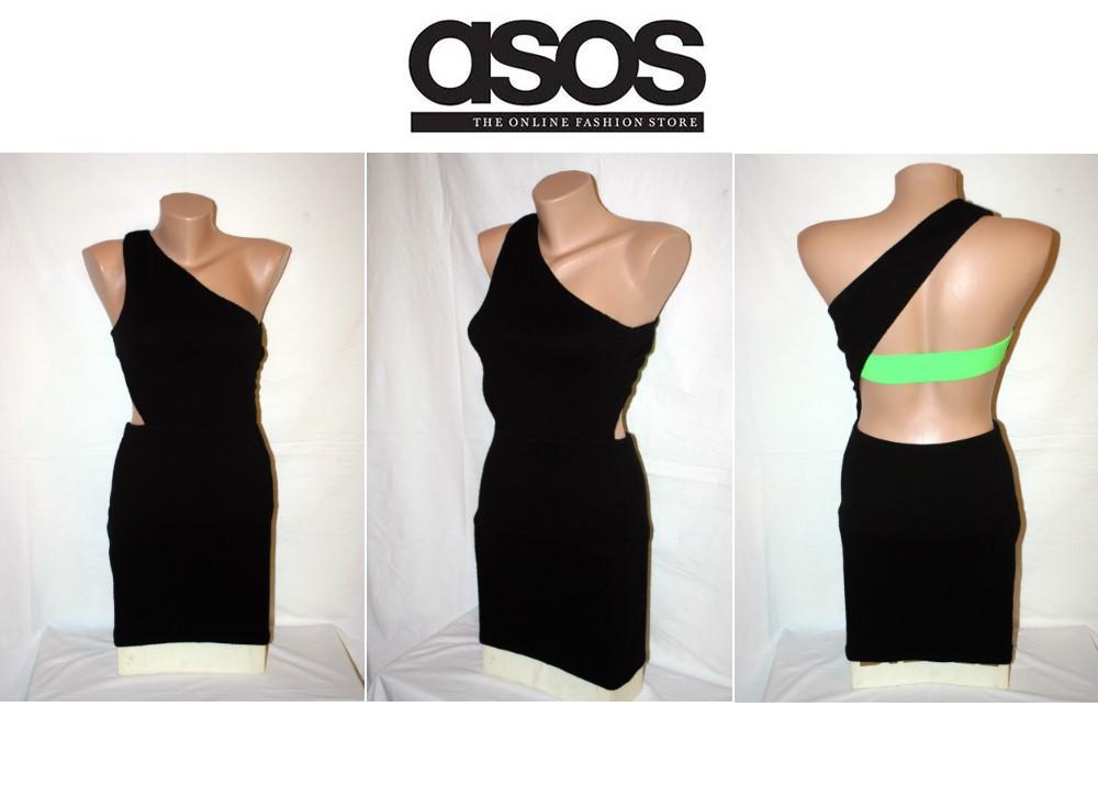 Asos Bodycon Bandeau šaty na jedno rameno - Obrázok č. 1