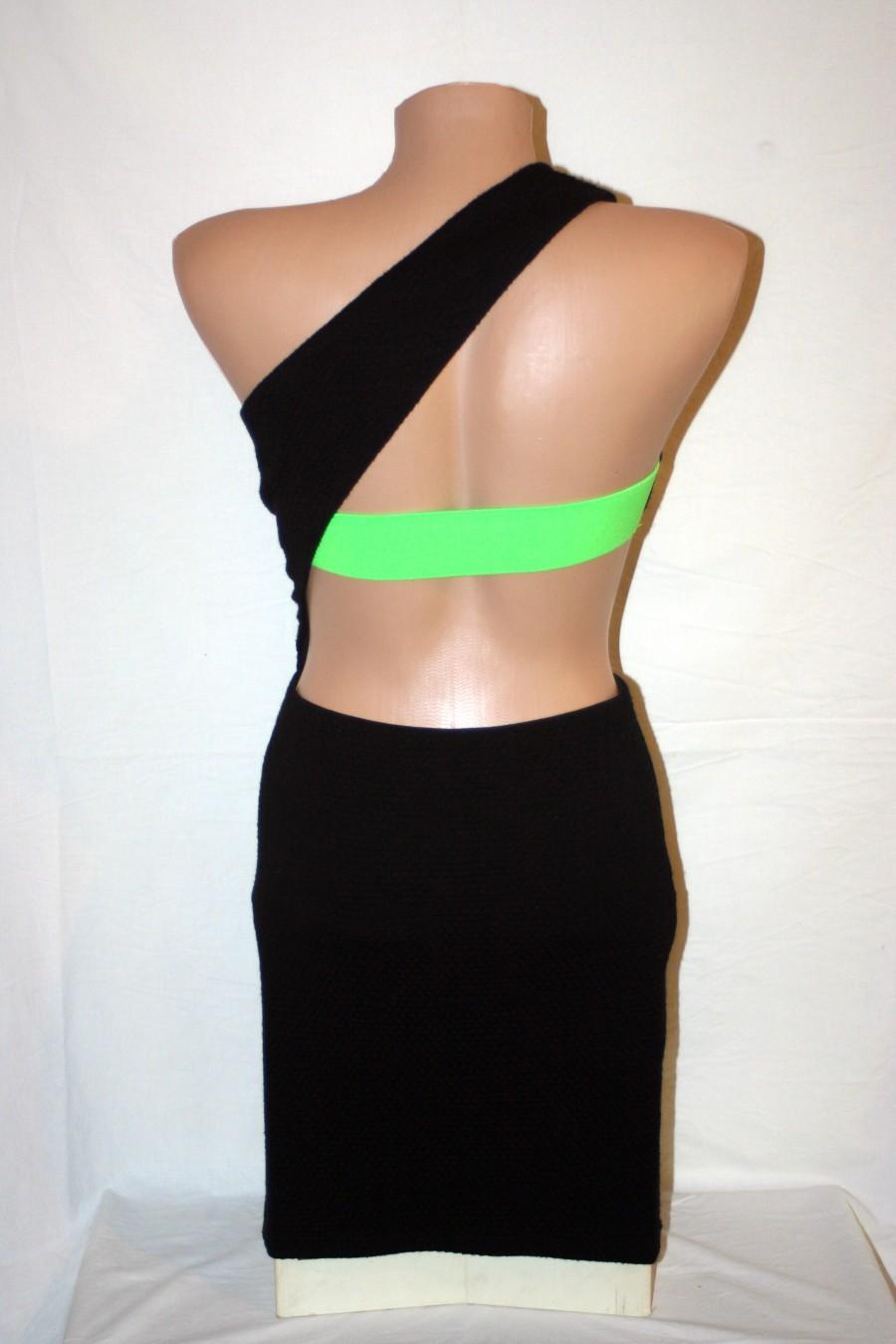 Asos Bodycon Bandeau šaty na jedno rameno - Obrázok č. 4