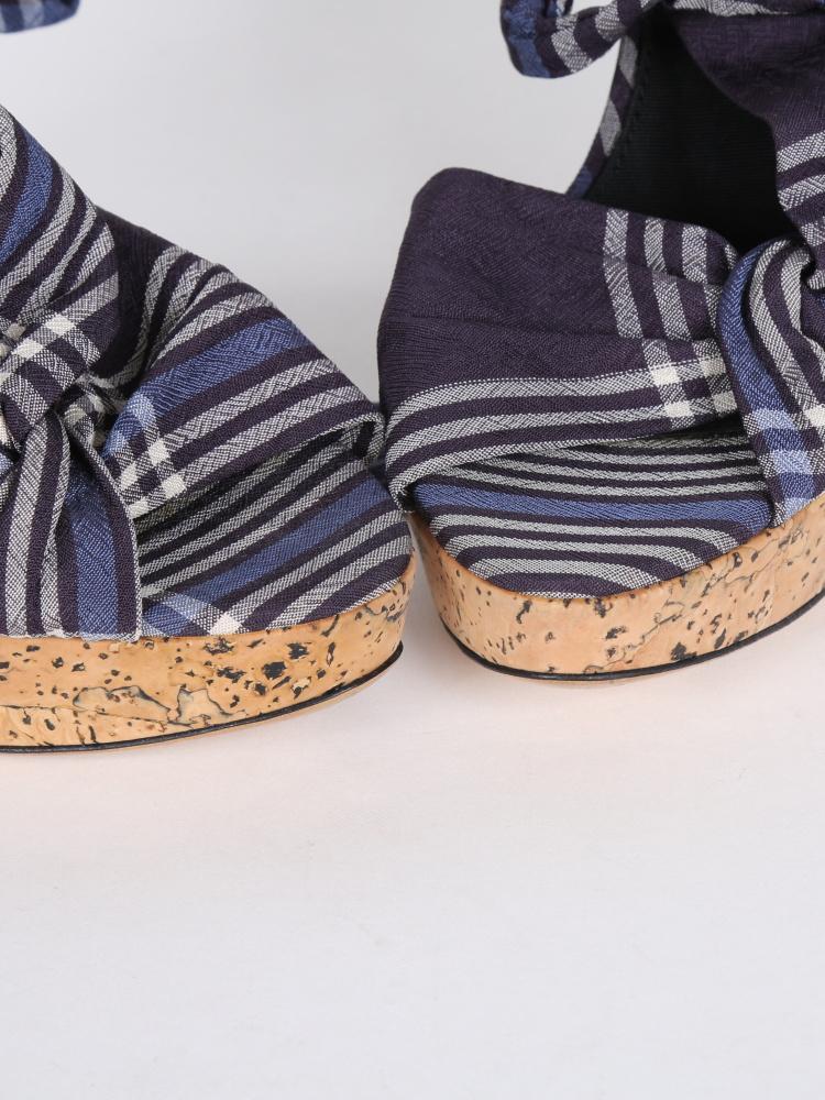 Donna Karan DKNY sandálky na platforme - Obrázok č. 2