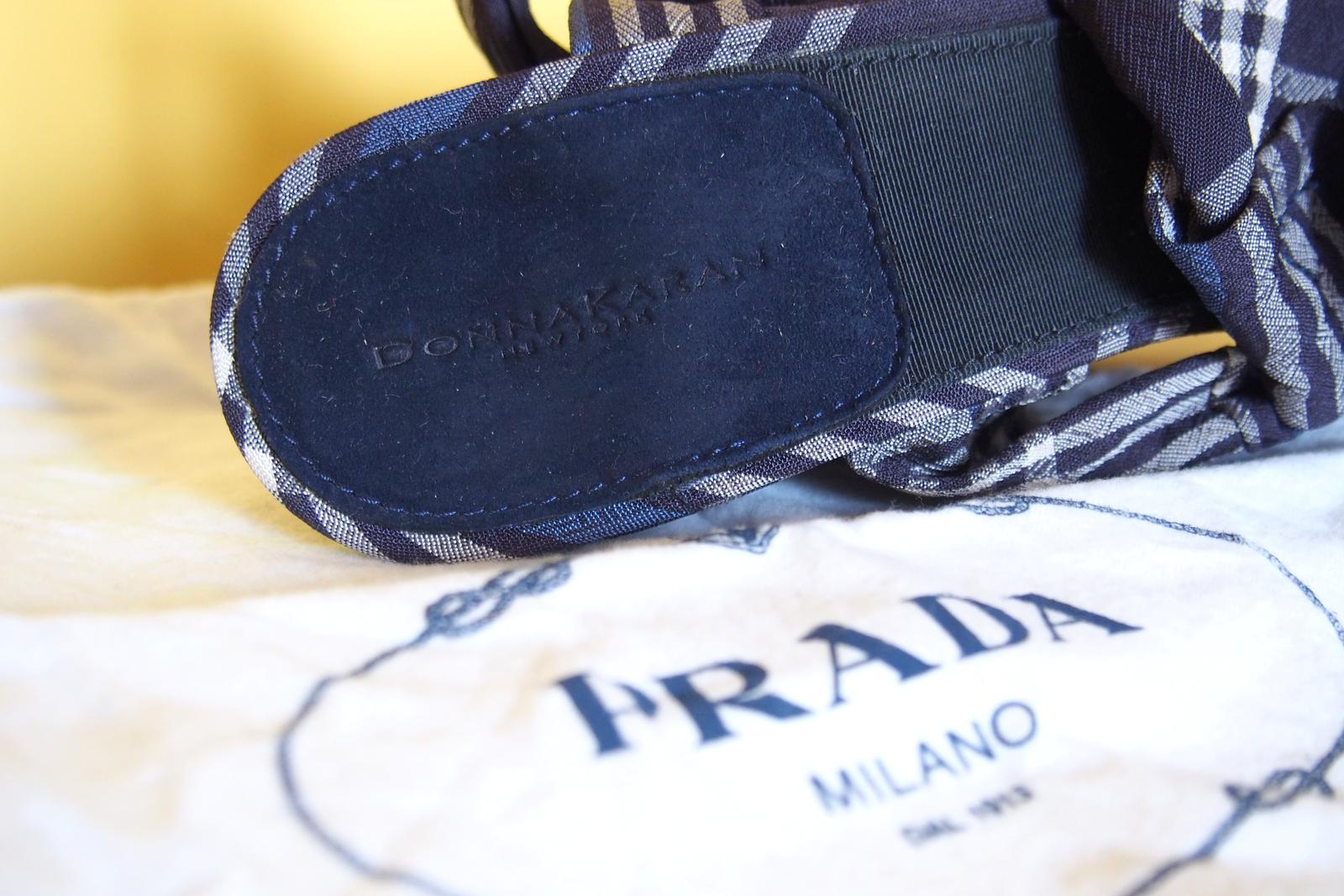 Donna Karan DKNY sandálky na platforme - Obrázok č. 4