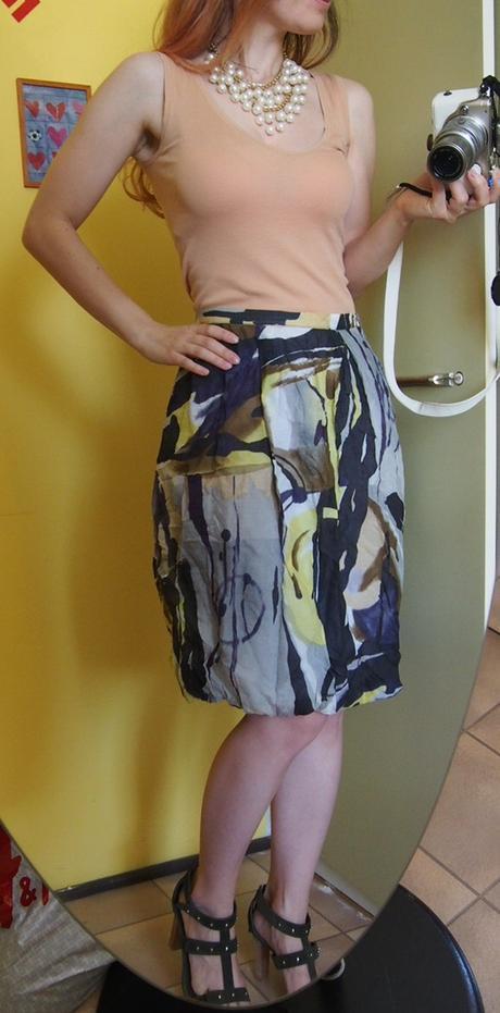 Hirsch akvarelová hodvábna sukňa - Obrázok č. 4