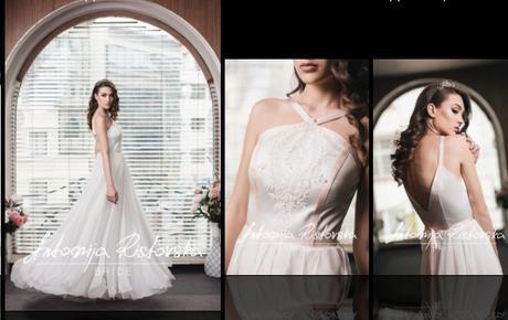 Unikátne dizajnérske boho svadobné šaty s hodvábom - Obrázok č. 2