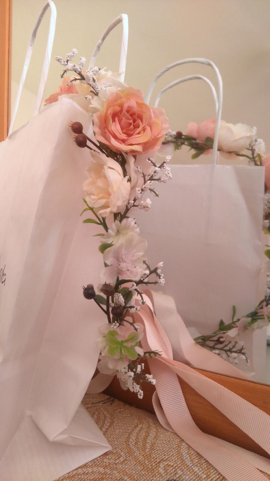 Unikátne dizajnérske boho svadobné šaty s hodvábom - Obrázok č. 4